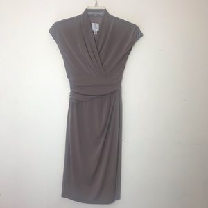 Suzi CHIN for Maggy Boutique pleated waist dress